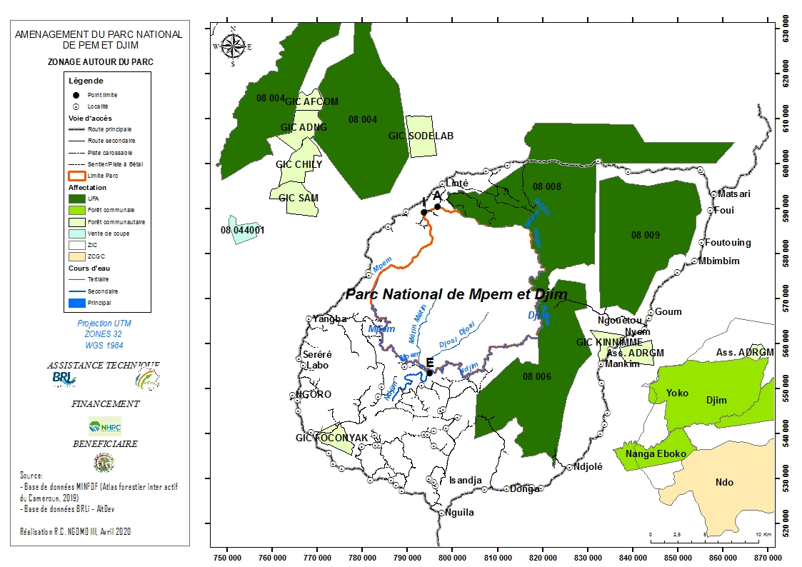 Mpem and Djim National Park (MDNP)